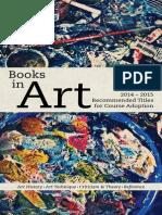 Random House LLC 2014-2015 Arts Catalog