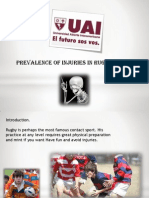 Lesiones en El Rugby Infantil