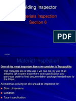 6 Material Inspection