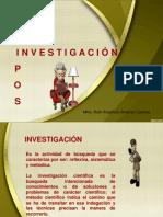 Clasificación Métodos Inv.
