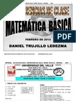 Conferencias Matemática Básica Contaduríauvalle 2014