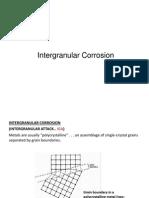 Lecture 7 Intergranular Corrosion