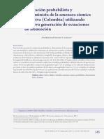 Ameaca Sismica Colombia