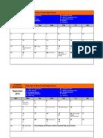 2013-14 calendar academic enrichment-1st semester