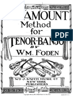 Foden _ Paramount Method Tenor Banjo