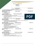 Erin's Resume PR Revised 2014