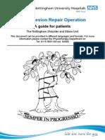 SLAP Lesion Repair Operation