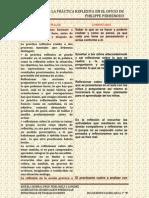Desarrollar La Práctica Reflexiva en El Oficio de Enseñar.
