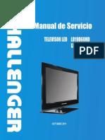 Ld19d60 Ld24d60 Manual de Servicio Led Tv Challenger - Modelo