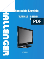 Ld19d60 Ld24d60 Manual de Servicio Led Tv Challenger - Modelo