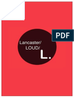 Lancaster Loud Final Group Proposal