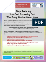 James Lee's 7 Steps Reducing Your Card Processing Cost What Every Merchant Must Know