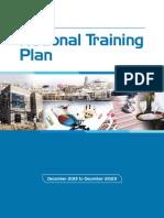 National Training Plan