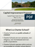 Riverview Charter School sales tax list