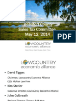 Lowcountry Economic Alliance sales tax project list