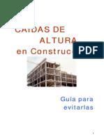 Caidas de Altura en Construccion