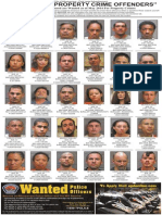 Most Wanted Property Crime Offenders, May 2014