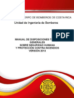 Manual de Disposiciones Tecnicas 2013