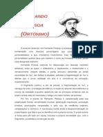COMPOSIÇÃO - Fernando Pessoa Ortónimo