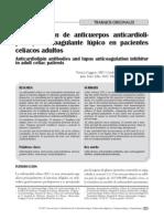 Determinacion de Anticoagulante Lupico en Pacientes Celiacos Adultos