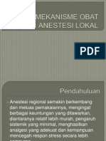 Mekanisme Obat Anestesi Lokal
