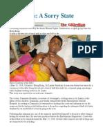 Sri Lanka a Sorry State