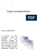 TUBOS COLORIMETRICOS