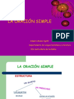 La Oración Simple 1
