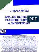 Nr 20 Analise de Riscos e Plano de Emergencia