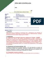 Ordem de Servico Higiene e Seguranca Reflorestamento