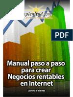 E-book NEGOCIOS en INTERNET Primavera-Verano 2010-2011