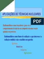 Aplicações de Técnicas Nucleares