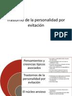Trastorno de La Personalidad Por Evitación 11-Abril-2014