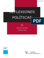 Reflexiones Politicas III