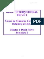 Droit International Privé COMPLET