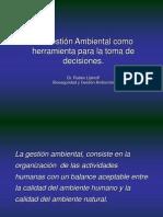 Gestion Ambiental Herramienta de Toma de Decisiones