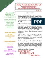 hfc may 18 2014 bulletin