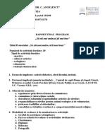 Anexa Model Raport Finalizare Scoala Altfel 2012