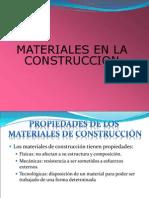 01 Materiales en La Construcción
