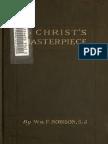 Christ's Masterpiece by William F. Robison (1918)