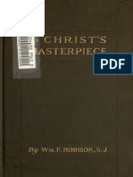 Christ's Masterpiece by William F. Robison (1918)