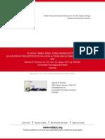 Aplicación de Tres Métodos de Solución Al Problema de Dimensionamiento de Lotes y Mrp