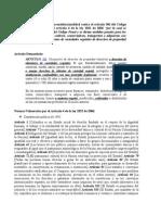 Resumen Demanda de Inconsitucionalidad Ley 1032 de 2006