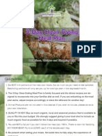 3 Day Clean Eating Meal Plan Trial