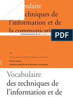 01 Terminologie Vocabulaire TIC 09