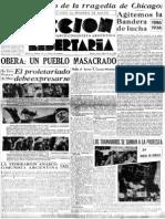 Acción Libertaria, Nº 19. Abril 1936