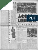 Acción Libertaria, Nº 20. Agosto1936