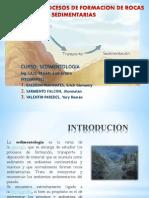 Concepto y Procesos de Formacion de Rocas Sedimentarias