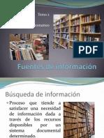 Tema 2 Fuentes de Informacion