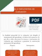 Expo Tcnicas e Instrumentos de Evaluacion